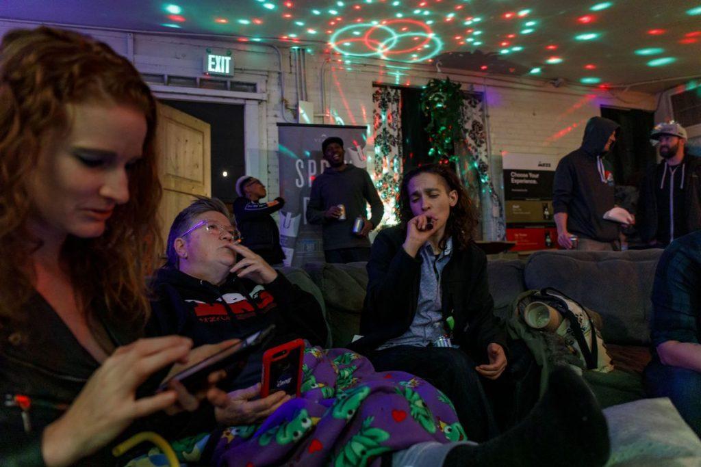 Marijuana Lounge