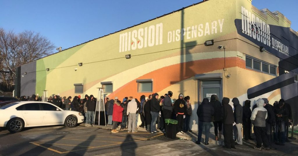 Mission South Shore marijuana dispensary